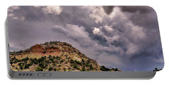 Skies Over Montana Portable Battery Charger by Gina Savage