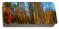 Skinny Forest Swipe Portable Battery Charger