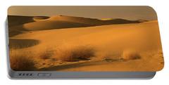 Skn 1124 The Desert Landscape Portable Battery Charger by Sunil Kapadia