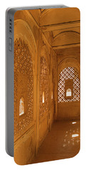Skn 1241 Carved Niche Portable Battery Charger by Sunil Kapadia