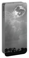 Skn 2170 Blessings Showered Portable Battery Charger by Sunil Kapadia