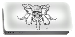 Skull Design Portable Battery Charger