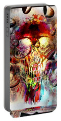 Skull Drops By Nico Bielow Portable Battery Charger