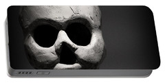 Skull Portable Battery Charger by Joseph Skompski