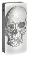 Skull Study 2 Portable Battery Charger