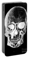 Skull Study 3 Portable Battery Charger