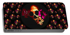 Skulls In The Dark Night Portable Battery Charger