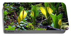 Skunk Cabbage Two Portable Battery Charger