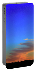 Portable Battery Charger featuring the photograph Sky And Cloud At Sunset Three  by Lyle Crump
