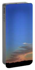 Portable Battery Charger featuring the photograph Sky And Cloud At Sunset Two  by Lyle Crump