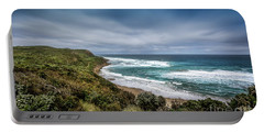 Portable Battery Charger featuring the photograph Sky Blue Coast by Perry Webster