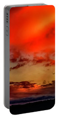 Portable Battery Charger featuring the photograph Sky Drama  by Cliff Norton