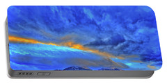 Portable Battery Charger featuring the photograph Sky Fall by Scott Mahon