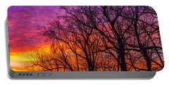Portable Battery Charger featuring the photograph Sky Fantastic by John Harding