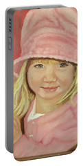 Sky In Pink Portable Battery Charger