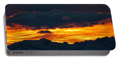 Portable Battery Charger featuring the photograph Sky Lava by Colleen Coccia