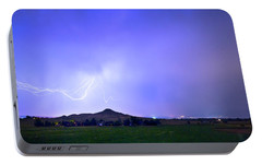 Portable Battery Charger featuring the photograph Sky Monster Above Haystack Mountain by James BO Insogna
