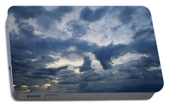 Portable Battery Charger featuring the photograph Sky Moods - Happenings by Glenn McCarthy Art and Photography