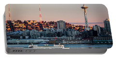 Space Needle.seattle,washington Portable Battery Charger