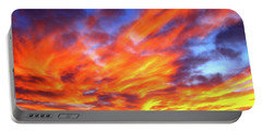 Sky On Fire #5 Portable Battery Charger