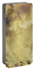 Sky Texture Background Portable Battery Charger