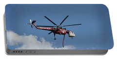 Skycrane Works The Red Canyon Fire Portable Battery Charger