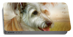 Skye Terrier Portable Battery Charger