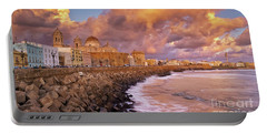 Skyline From Campo Del Sur Cadiz Spain Portable Battery Charger