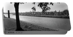 Portable Battery Charger featuring the photograph Skyline Maastricht by Nop Briex