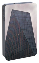 Portable Battery Charger featuring the photograph Skyscraper by Anne Kotan