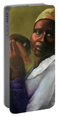 Portable Battery Charger featuring the painting Slaughter Of The Innocents by Marlene Book