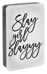 Slay Portable Battery Charger by Elizabeth Taylor