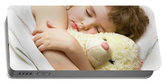 Sleeping Boy Portable Battery Charger