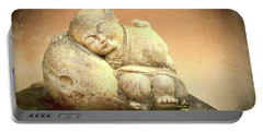 Sleeping Buddha Portable Battery Charger