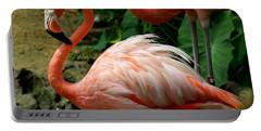 Sleeping Flamingo Portable Battery Charger