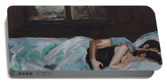 Sleeping In Portable Battery Charger