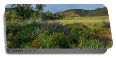 Sleeping Poppies, Mission Trails Portable Battery Charger