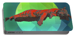 Sleeping Tiger Portable Battery Charger
