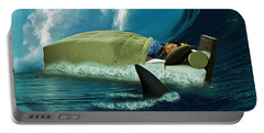 Sleeping With Sharks Portable Battery Charger