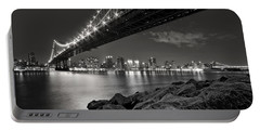 Sleepless Nights And City Lights Portable Battery Charger