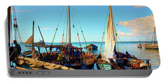 Sleepy Sail Boats Zanzibar Portable Battery Charger