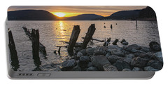 Sleepy Waterfront Dream Portable Battery Charger