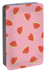 Slice Of Life Portable Battery Charger by Elizabeth Tuck