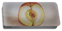 Sliced Apple Portable Battery Charger