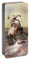 Slick Rider Portable Battery Charger by Charles Russell