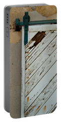 Sliding Barn Door Portable Battery Charger