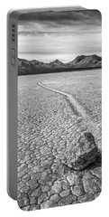 Sliding Stone, Racetrack Playa Portable Battery Charger