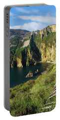 Portable Battery Charger featuring the photograph Slieve League Cliffs Eastern End by RicardMN Photography