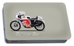 Slippery Sam Production Racer Portable Battery Charger by Mark Rogan