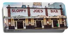 Portable Battery Charger featuring the photograph Sloppy Joe's Bar - Key West by Bob Slitzan